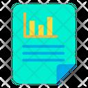 Analytics Document Icon