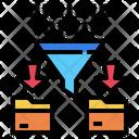 Analytics Filter Management Icon