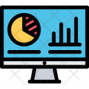 Analytics Finance Marketing Icon
