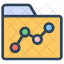 Seo Folder Charts Icon