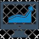 Analytics Chart Financial Report Icon