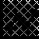 Graph Analytics Business Icon
