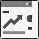 Analytics Growth Icon