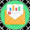 Analytics Mail Icon