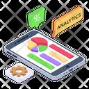 Business Analytics Analytics Management Mobile Statistics Management Icon