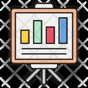 Presentation Graph Board Icon