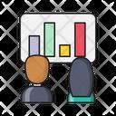 Presentation Barchart Graph Icon