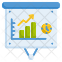 Presentation Statistics Graph Icon