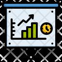 Presentation Statistics Graph Icon
