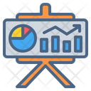 Chart Presentation Icon