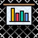 Analytics Presentation Icon