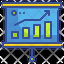 Analytics Presentation Growth Presentation Growth Graph Icon