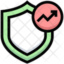 Analytics Protection Protection Earning Icon