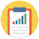Business Report Growth Analytics Sales Report Icon