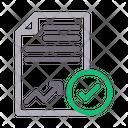 Analytics Report Icon