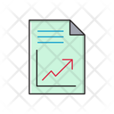 Report File Sheet Icon