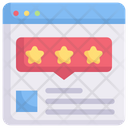 Internet Marketing Review Rating Star Icon