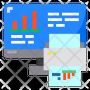 Monitor Chart Graph Icon