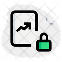 Analytics Report Lock Icon