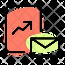 Analytics Report Mail Icon
