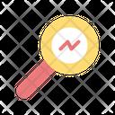Analyze Chart Business Icon