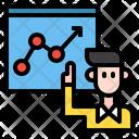 Analyzer Man Present Icon