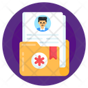 Patient History Medical Folder Anamnesis Icon