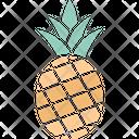 Ananas Ananas Comosus Organic Icon