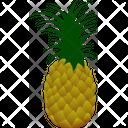 Ananas Genus Pineapple Icon