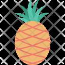 Ananas Food Fruit Icon