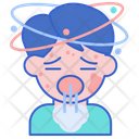 Anaphylaxis Dizzy Headache Icon