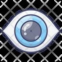 Anatomy Eyesight Pupil Icon