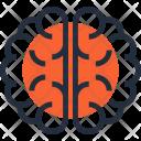 Anatomy Brain Headache Icon