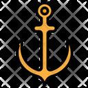 Anchor Sail Sea Icon