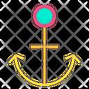 Anchor Ship Clamp Icon