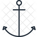 Anchor Nautical Marine Icon