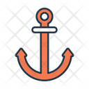 Anchor Ship Equipment Marine Equipment Icon