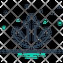 Anchor Ios Nautical Icon