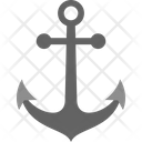 Anchor Marine Nautical Icon