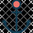 Anchor Marine Nautical Icon