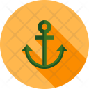 Anchor Sea Safety Icon