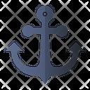Anchor Ship Marine Icon