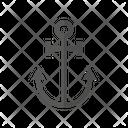 Anchor Ship Boat Icon