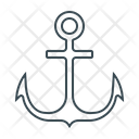 Anchor Link Marine Icon