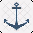 Anchor Beach Mapping Pin Icon