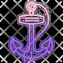 Anchor Marine Ship Icon