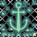 Anchor Sailing Sail Icon