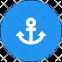 Anchor Ship Shipping Icon