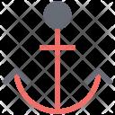 Anchor Seaside Waterside Icon