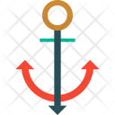 Anchor Sea Stopper Icon
